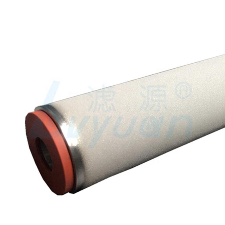 5 Micron Stainless Steel sintered porous metal filter cartridge/sintering filter tube for Industrial Liquid Filtration