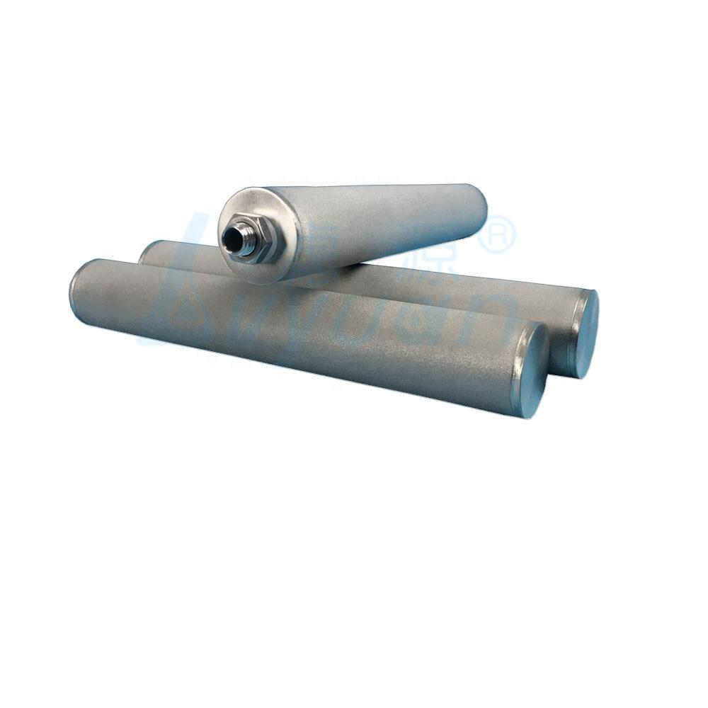 1 5 10 15 20 Micron SS316 Sintered Metal Tube Water Filters /Industrial Stainless Steel Filter