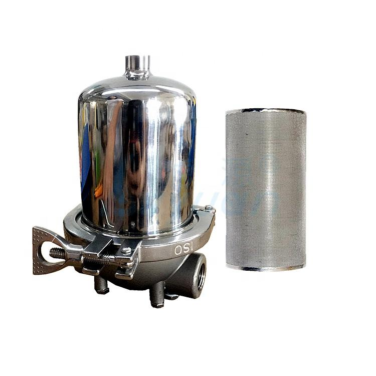 Sinter ss filter 316l stainless steel pre filter cartridge for water filtration