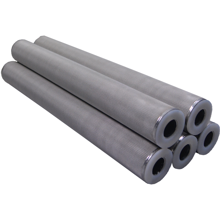 China supplier round porous sintered stainless steel filter