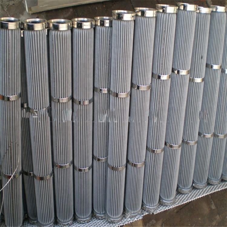 High quality Sintered Stainless Steel micro Filter for water treatment