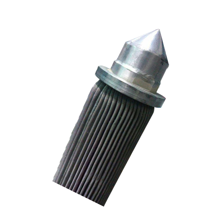 Customized size stainless steel filter elements For Construction Works with Low Price