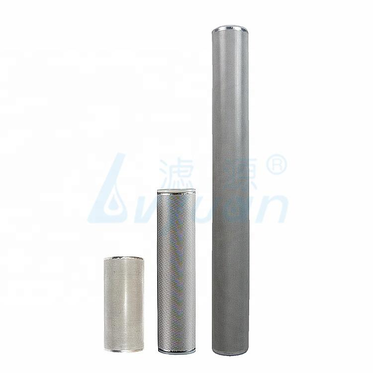 ss316 stainless steel sintered filter cartridge/stainless steel metal mesh filter cartridge for liquid filtration