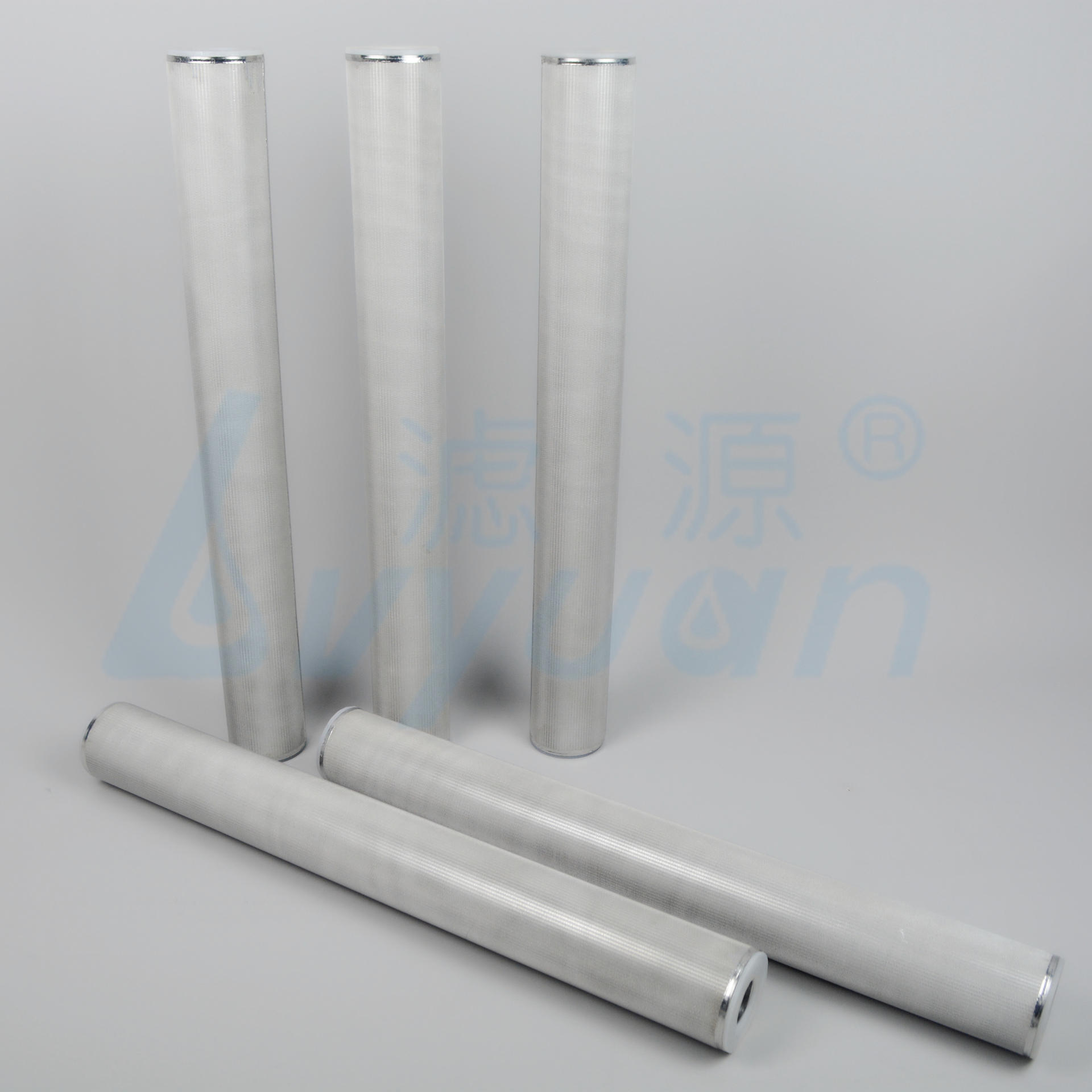 sintering stainless steel pleated filter cartridge /25 micron stainless steel filter tube for vegetable oil