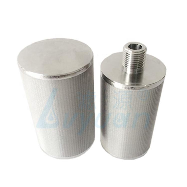 High temperature resistance Stainless Steel cartridge filter 5 Layers Sintered ss316 Mesh Filter tube