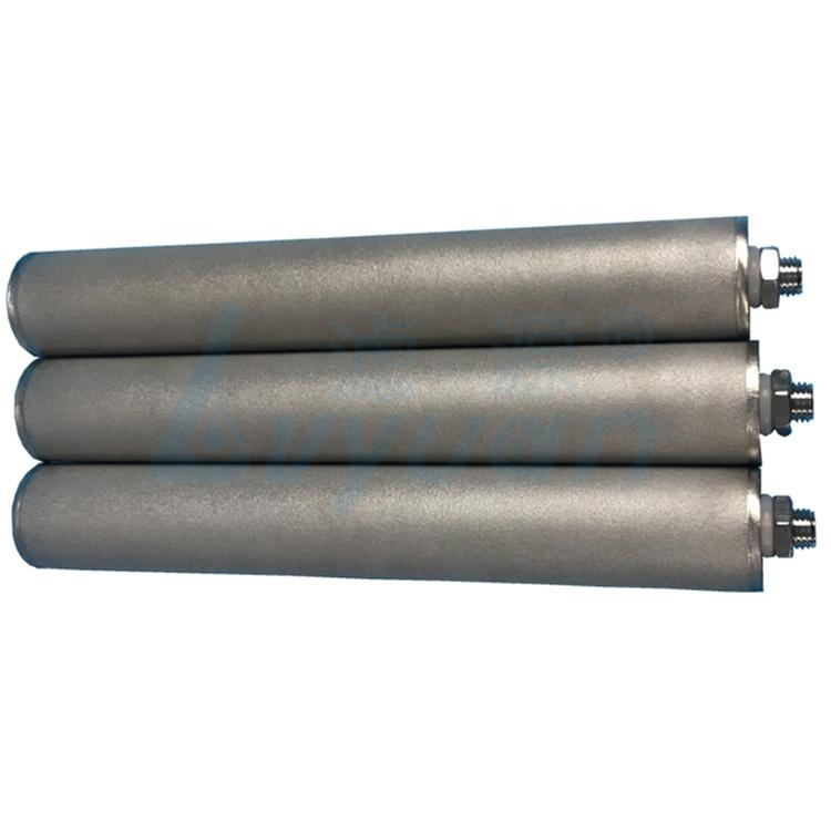 Industrial high temperature 75 micron stainless steel water filters
