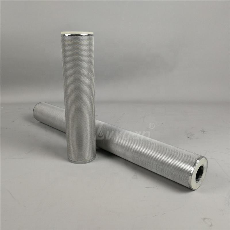 Backwash 10/20/40/50/80/125 Micron Stainless Steel Sintered mesh filter element for industrial oil pre water filter treatment