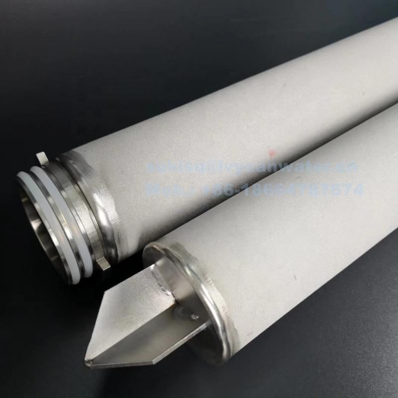 Industrial High Pressure Stainless Steel Steam Filter for cleaner water gas air filter treatment machine
