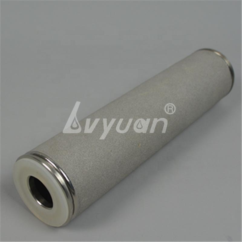 Reusable 0.2/0.45/1/5/10 micron Sintered Stainless Steel SS 316L Powder Filter Cartridge