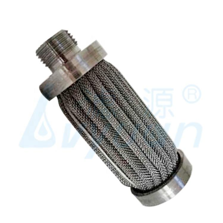 cartridge filter 1- 200 micron stainless steel pleated filter cartridge for industry