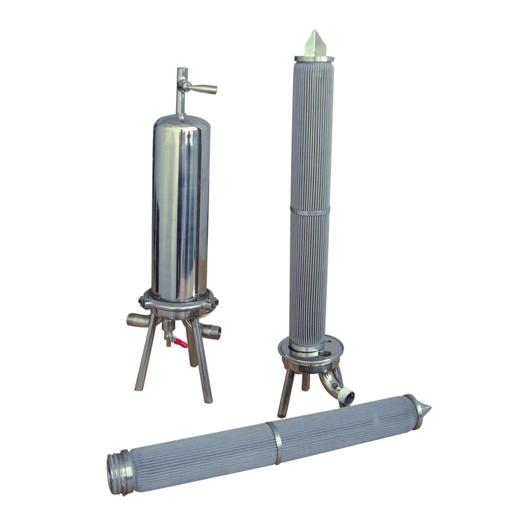 Water purifier spare parts stainless steel sintered mesh filter element For Printing Shops