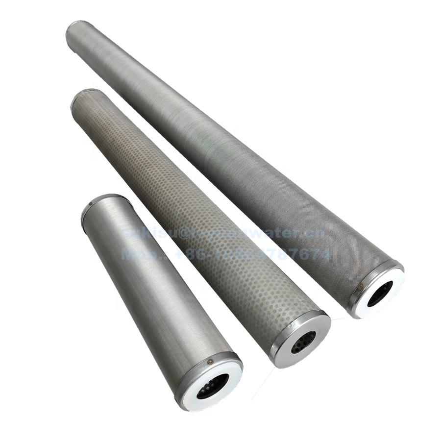 5/10/20/30/40 inch Stainless steel Wire mesh cylinder Water Filter Strainer Cartridge with 25/50/75/100/150/200/300 micron
