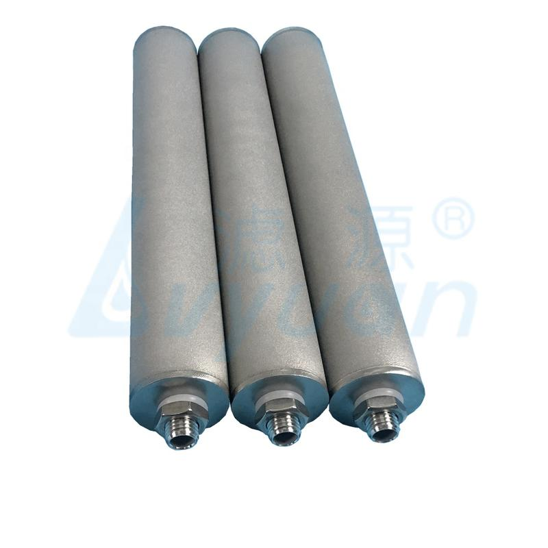 stainless steel filter cartridge/stainless steel sintered powder filter cartridge with 13 5 10 20 micron