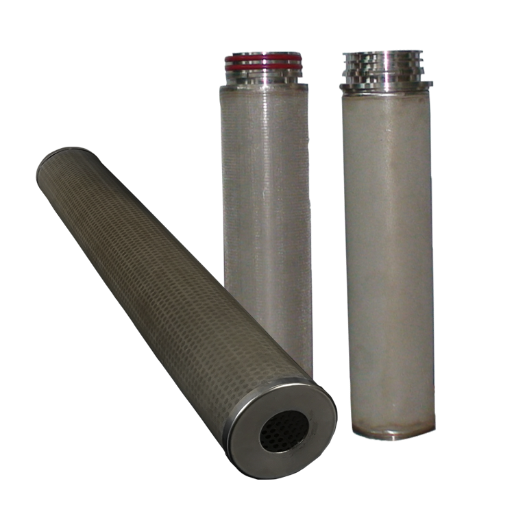 Premium sintered wire mesh filter element for mineral water treatment plant