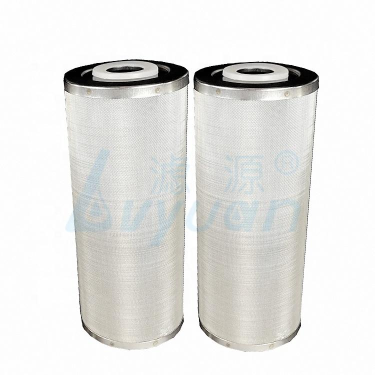 10 inch jumbo sintered metal filter cartridge for industrial liquids filtration