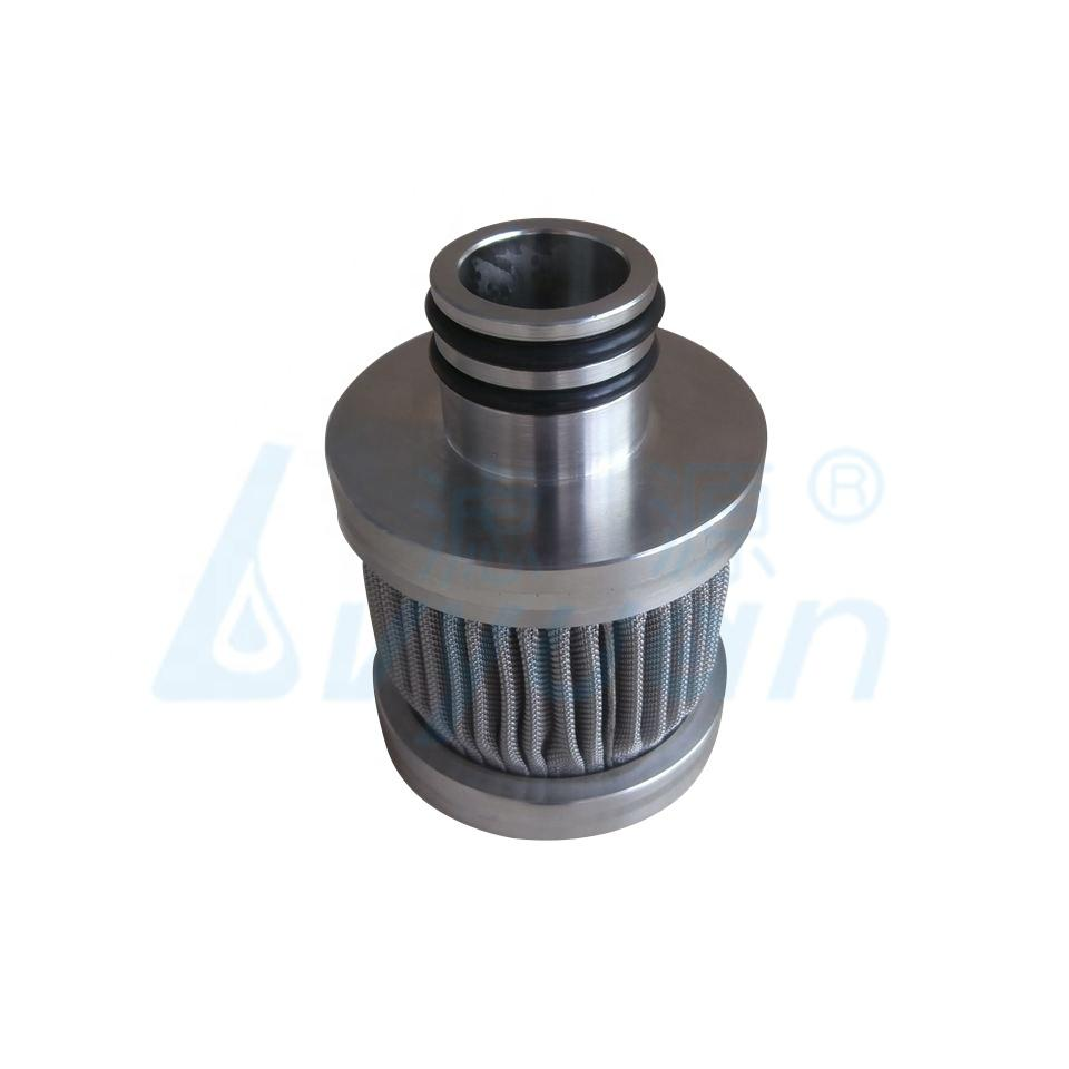 Customized size stainless steel pleated filter cartridge sintered metal candle filter 10 20 30 40 inch