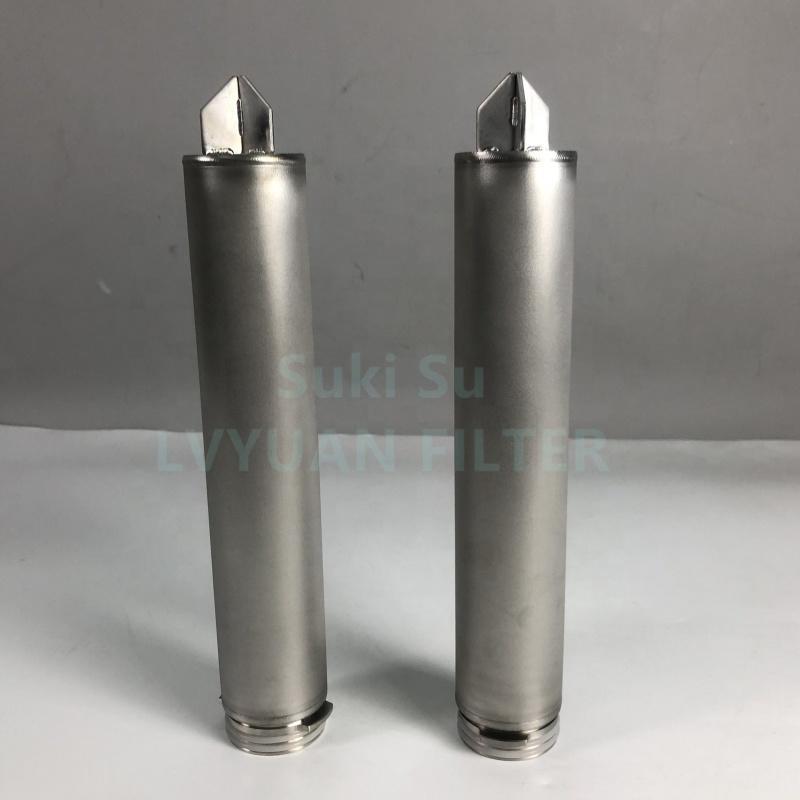 Cleanable Natural Gas nitrogen Sintering sus powder metal 316 L 316l filter 022 0.22 0.2 1 3 10 25 microns filtering elements