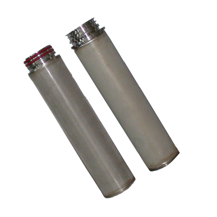 China Factory 10 micron stainless steel pleated filter cartridge