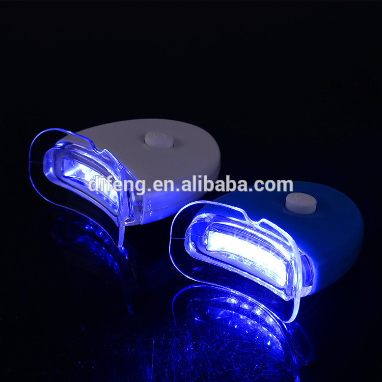 CE approved led mini light for teeth whitening with 5pcs bulbs