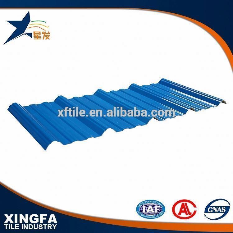 Toughness APVC trapezium polyurethane sandwich panel roofing tile