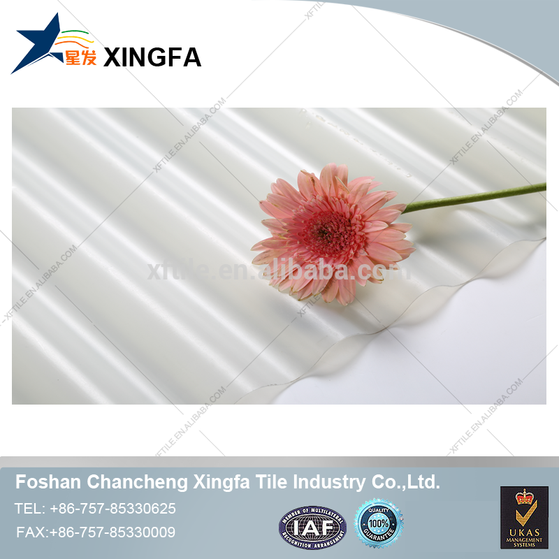 UPVC/PVC transparent plastic roofing sheet/ roofing tile