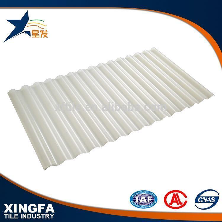 Competitive price transparent plastic roof tiles