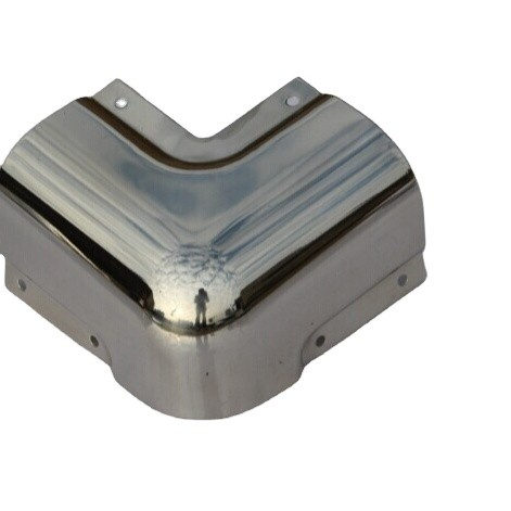 123102 Hot sale high quality van body parts stainless steel corner edging Side Guard Corner Protector