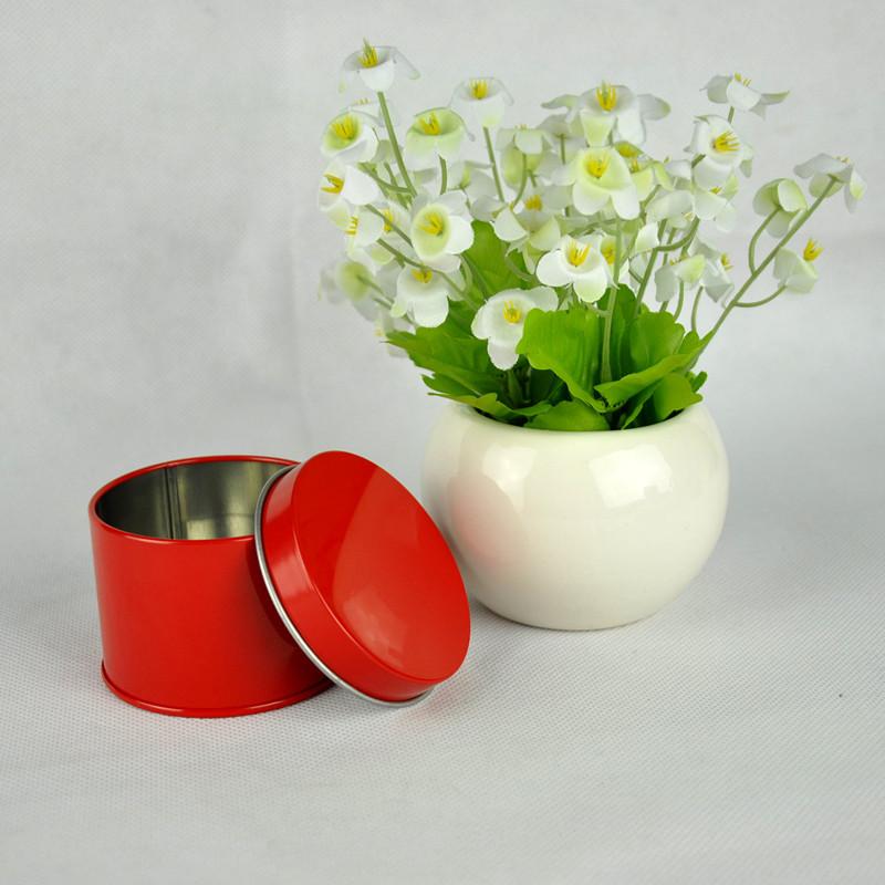 Hot Sale cheap bulk decorative candy round tin box