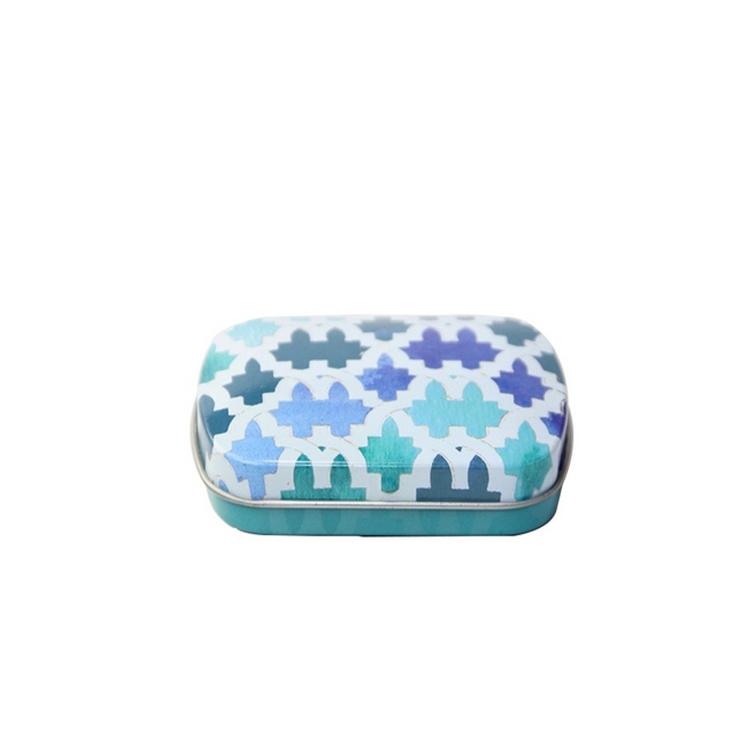 Promotional WholesaleEmpty Hinged candy Tin Box