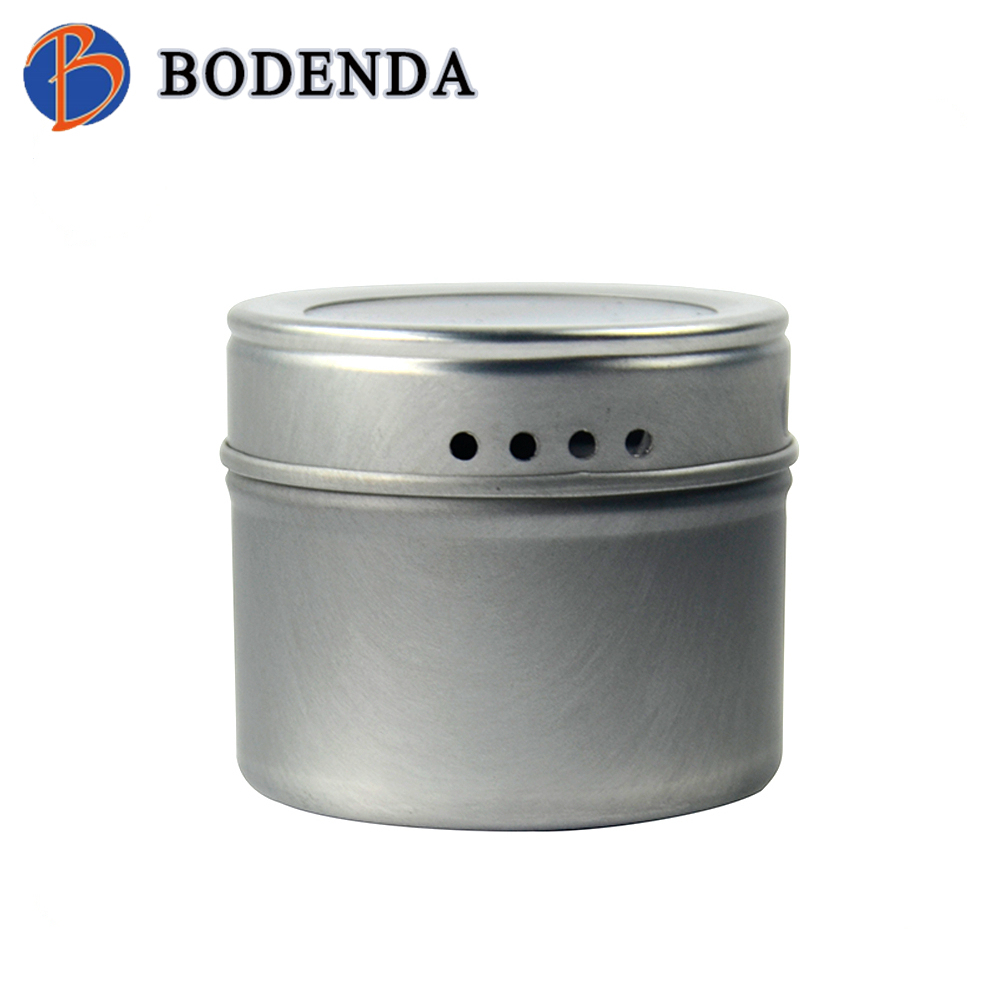 wholesale custom made small round metal pill box with food grade