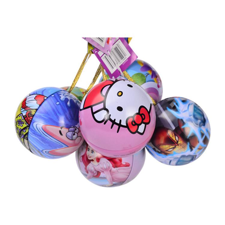 Mutiple size tin ball, gift packing tin box, candy tin ball