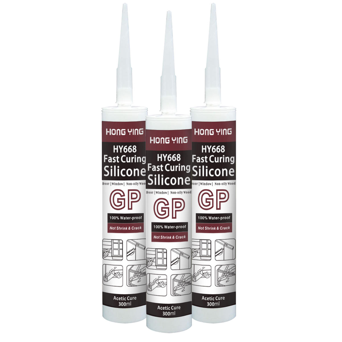 Universal Acetic Silicone Sealant