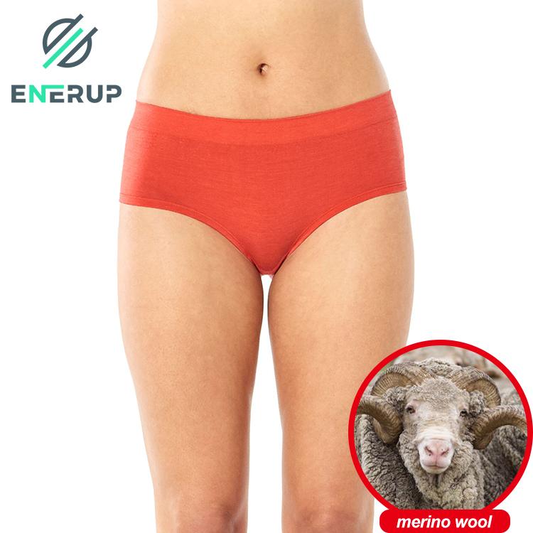 Enerup Women Ladies Merino Wool Cotton Ropa Interior Femenina De Para Mujer Underwear Panties