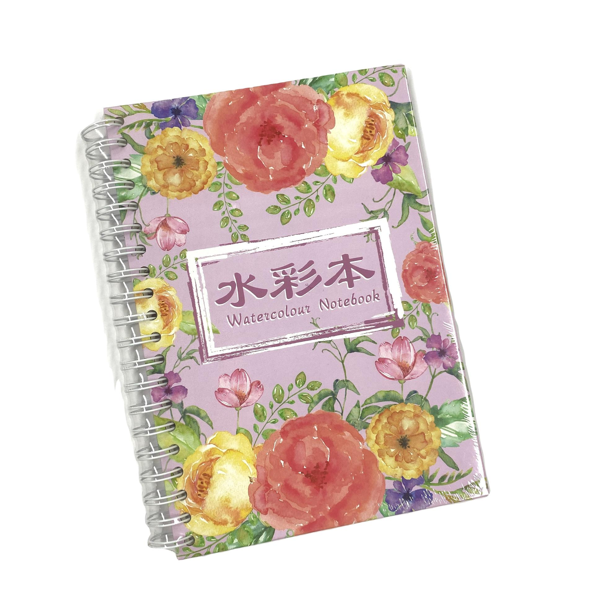 product-Custom Watercolor Drawing Paper Notebook For Kids Painting Notebook With Nice Paper For Draw-1