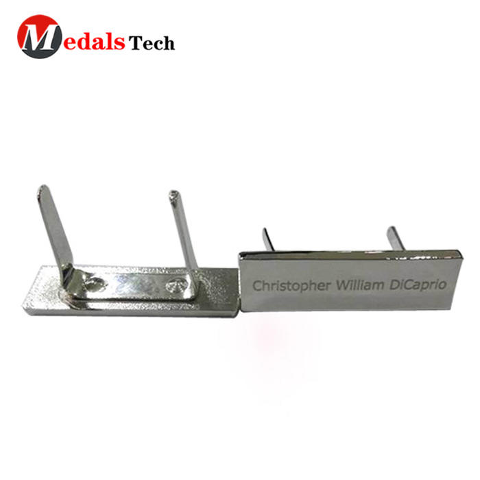Hot selling customlaser aluminum brass zinc alloy iron metal nameplate