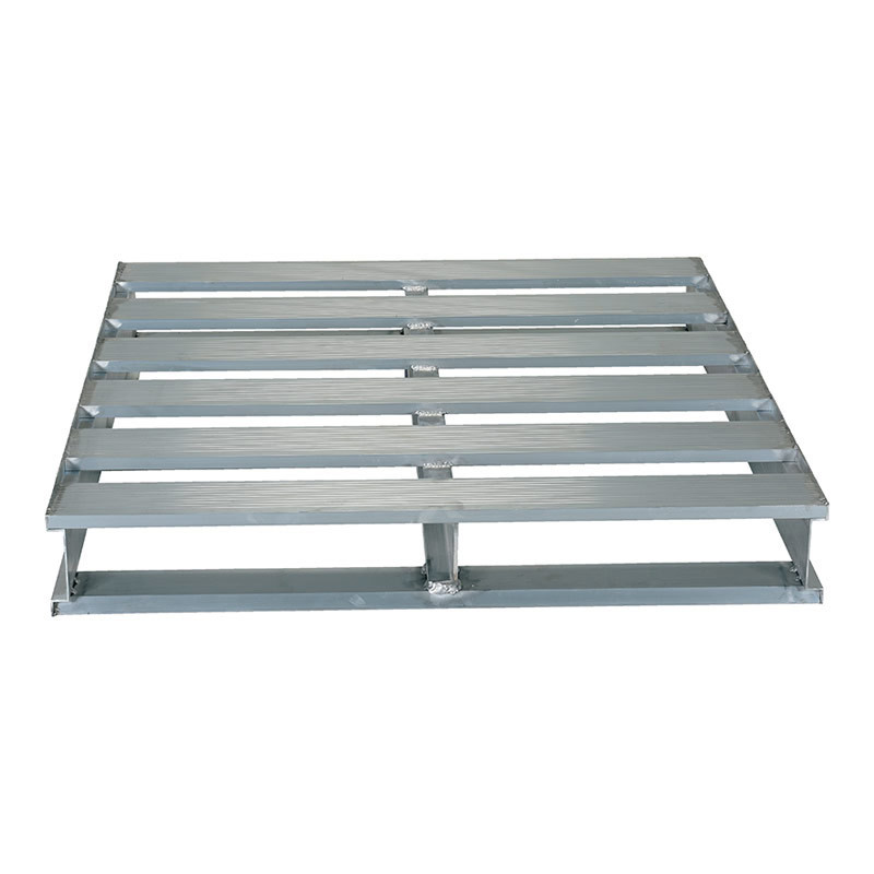 Four-Way Entry Aluminum Pallet for Transporting Goods
