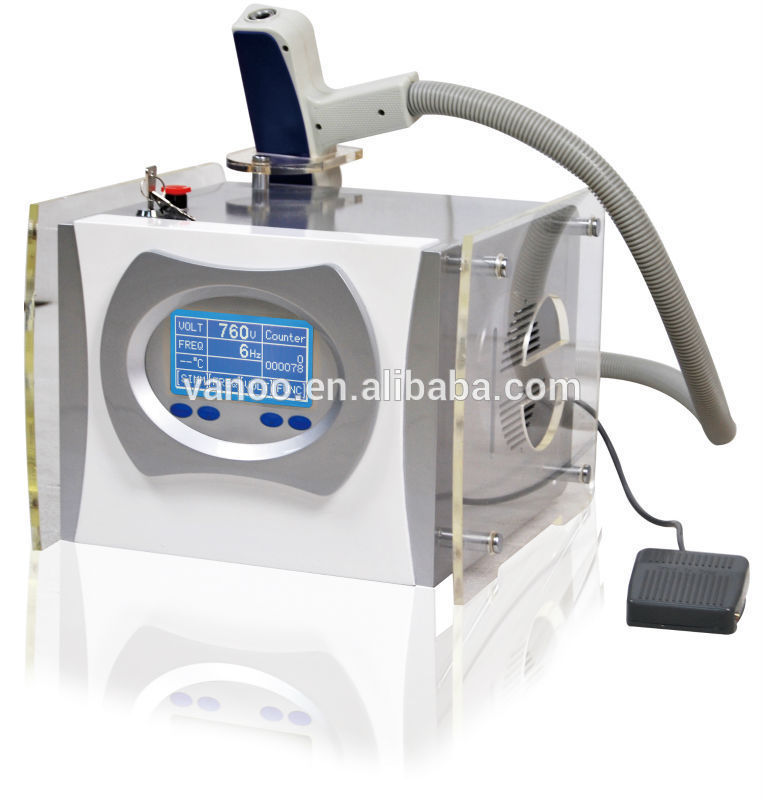 best-selling q switch nd yag laser tattoo/pigmentation removal machine 1064nm 532nm