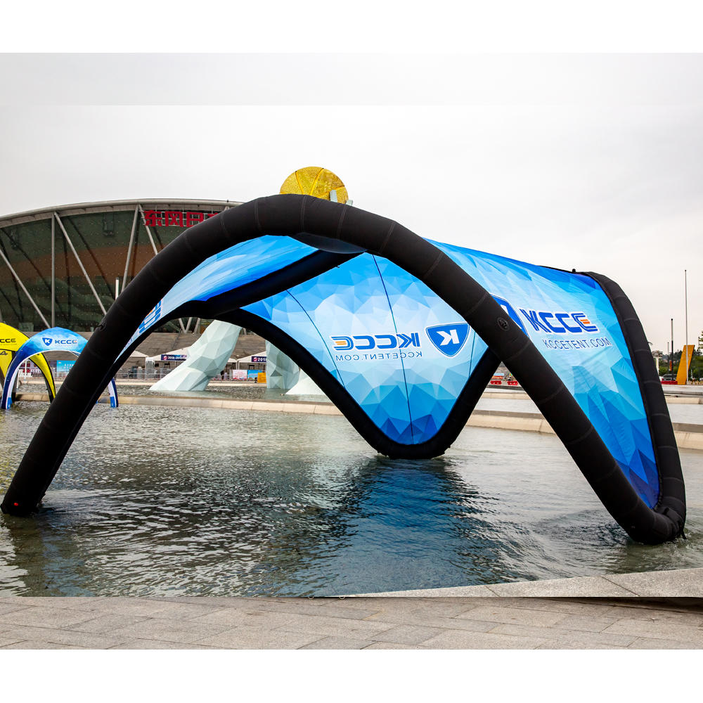 New design Exhibition and Advertising display outdoor inflatable beach tent