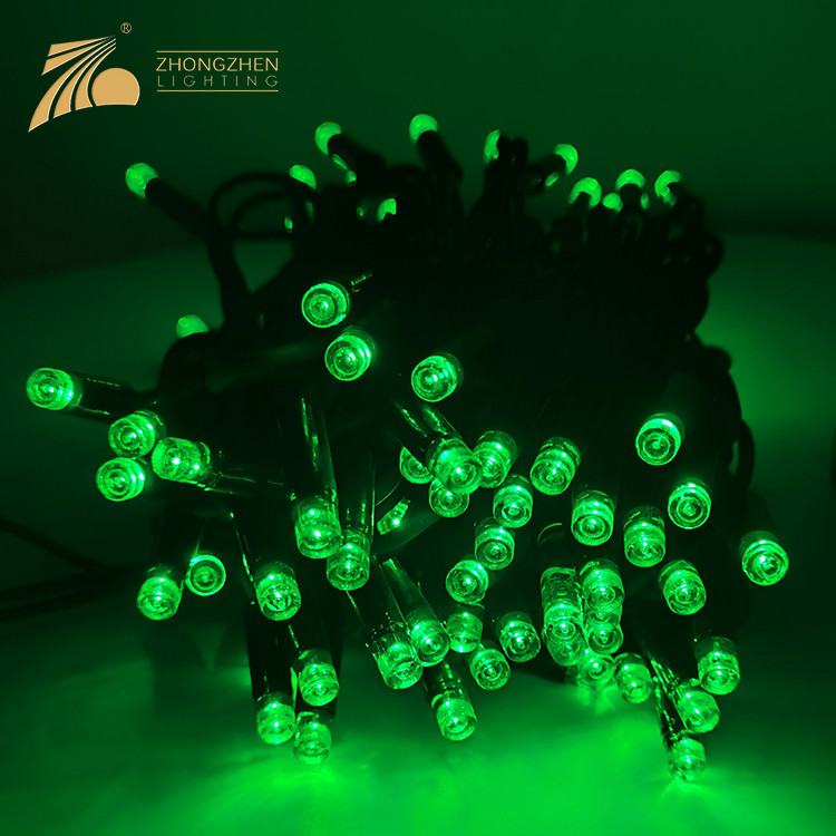 Connectable Type Outdoor IP65Multicolor Decoration Rubber Wire 3W 6W LED String Lamp