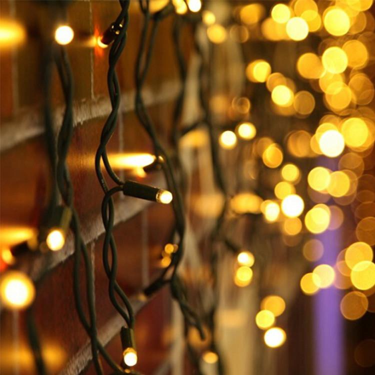 Multipurpose Christmas Holiday Christmas Tree Window House Decorative Rubber LED String Lights