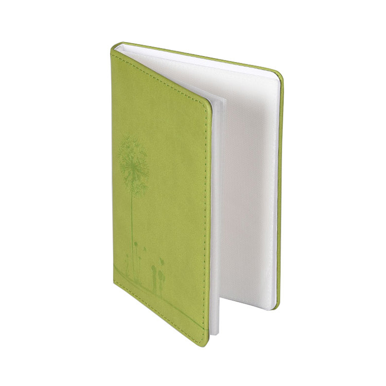 High Quality Pu leather cover Photo Album in 4*6 inch with Custom debossed Logo
