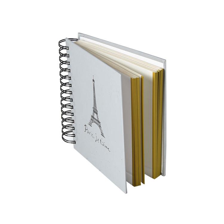 Modern design hardcover photo album withspiral binding