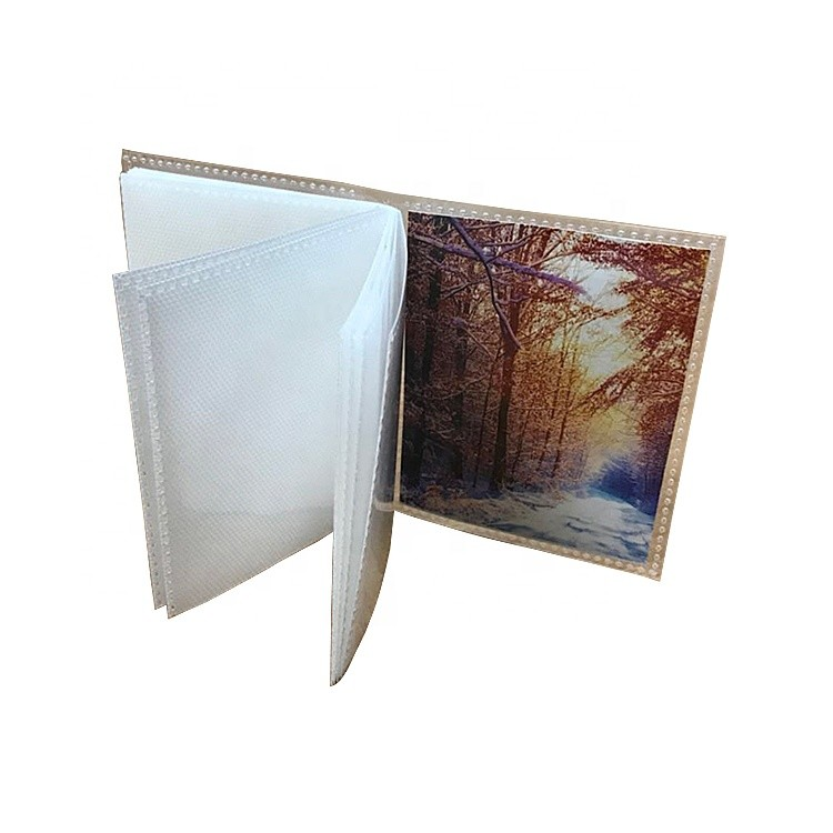 Custom Environmentally Promotion PP Material Mini Photo Album For Remembrance
