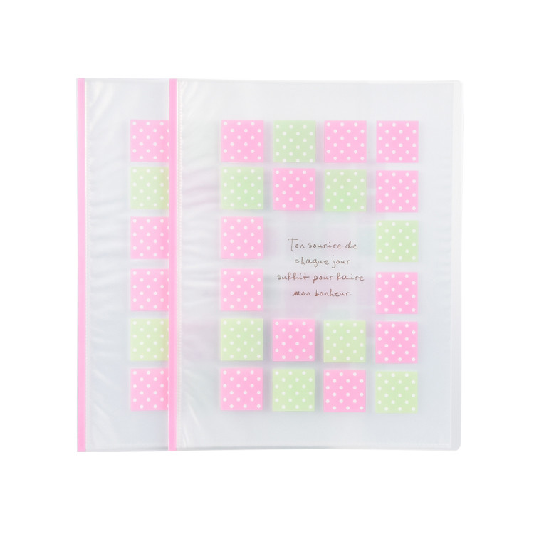Factory Custom A4 Clear Presentation Display Books 20 40 60 Pockets