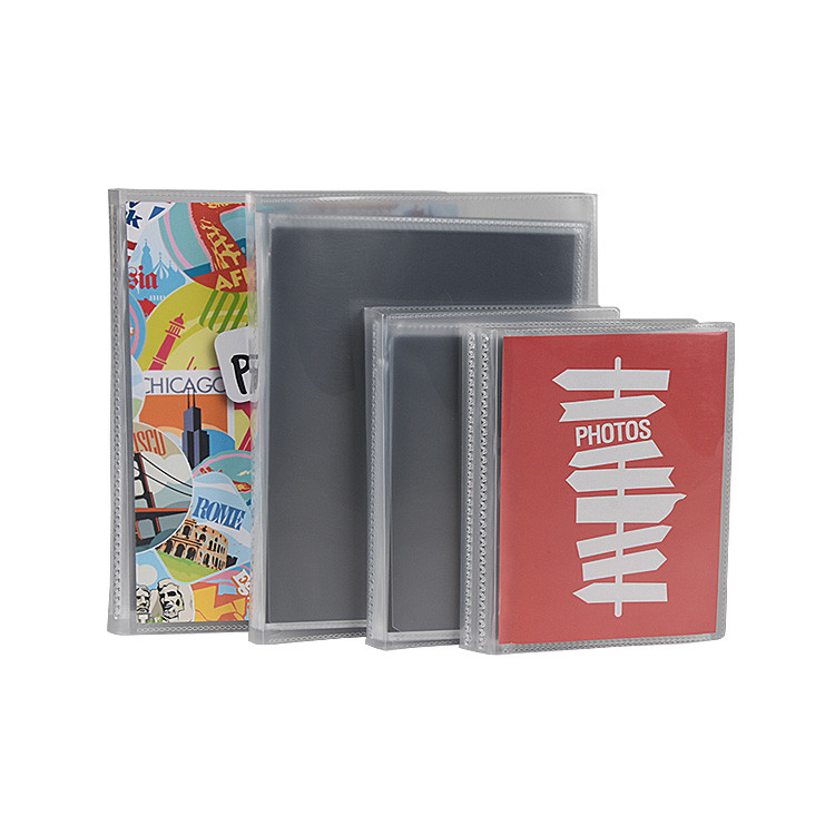 Customized Hot Sale PP Plastic Photo Album with replaceable cover