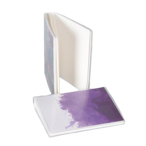 Custom 5x7 Photo Album Plastic Clear Currency Note Album