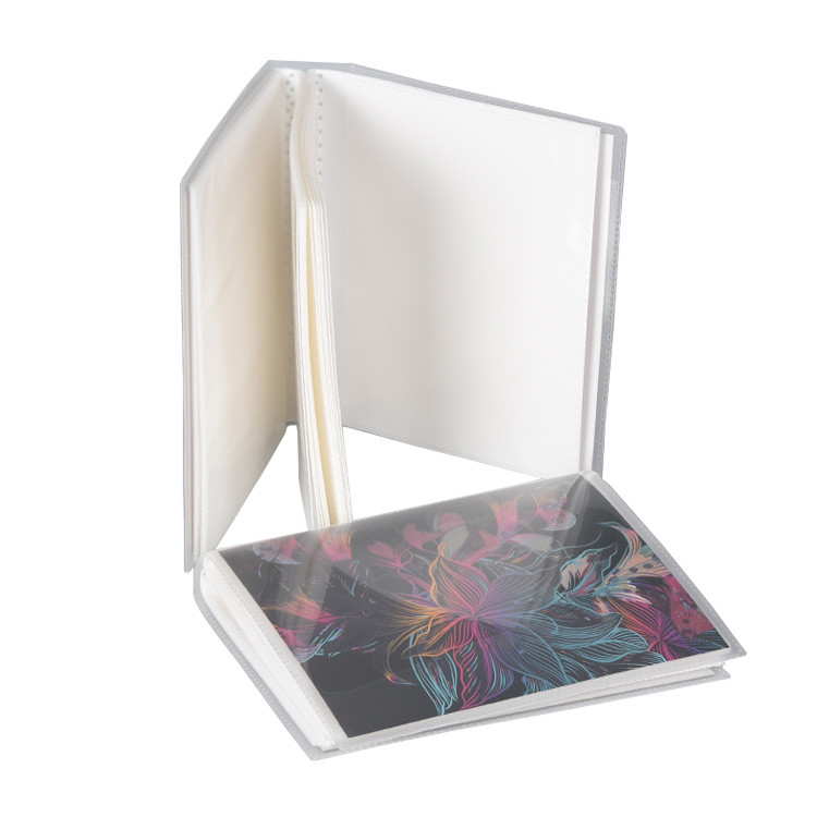 Custom Pages And Cover Plastic Sheet Self Adhesive Photo Album