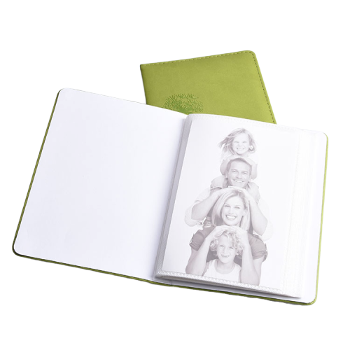 Custom Gift Leather Cover Promotional Gift Baby Photo Album with 6x4 Size