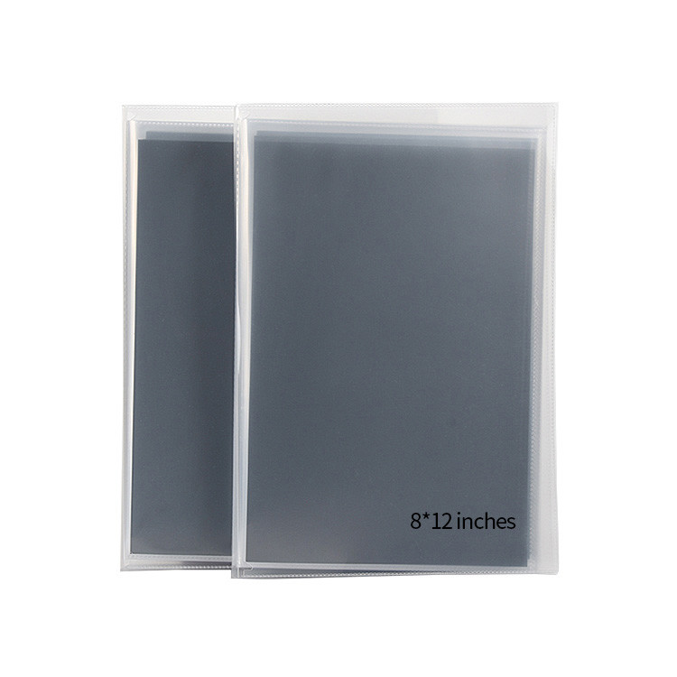 Custom 5 Pack 24 Pictures 6x4 Cheap Clear Plastic Blank Photo Album