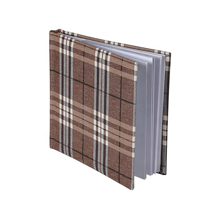 Custom High Quality Leather CoverPhoto Album with paper inner pages